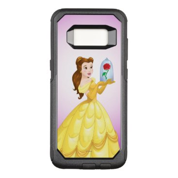 Disney Themed Belle   Rose In Glass OtterBox Commuter Samsung Galaxy S8 Case