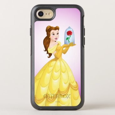 Disney Themed Belle   Rose In Glass OtterBox Symmetry iPhone 7 Case