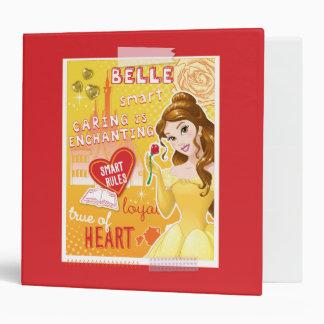 Belle - Smart Rules 3 Ring Binder