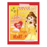 Belle - Smart Rules Postcard