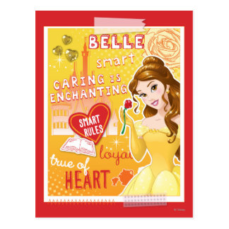 Belle - Smart Rules Postcard