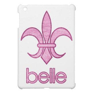 Belle Textured Fleur-de-Lis iPad Case (light)