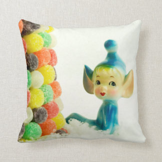 Belle the Pixie Elf Throw Pillow