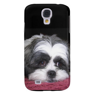 Belle The Shih Tzu Dog Samsung Galaxy S4 Cover
