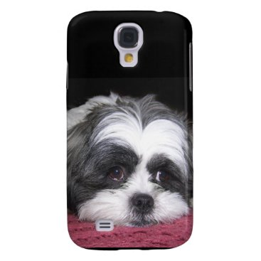ironydesignphotos Belle The Shih Tzu Dog Samsung Galaxy S4 Cover