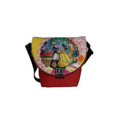 Belle - True Of Heart Courier Bag at Zazzle