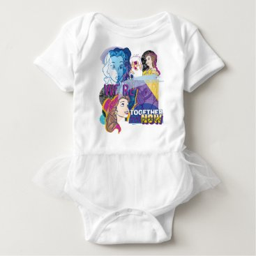 Disney Themed Belle | We're Together Now Baby Bodysuit