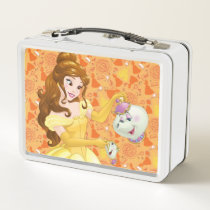 Belle with Mrs. Potts and Chip Metal Lunch Box