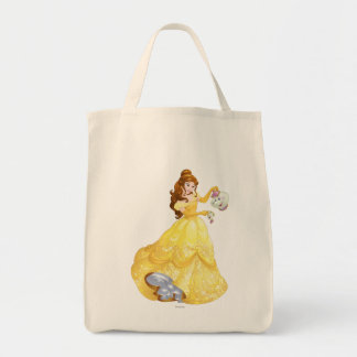 Belle with Mrs. Potts and Chip Tote Bag