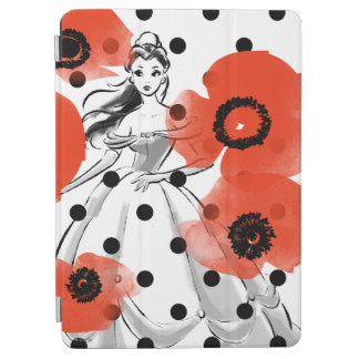 Belle With Poppies and Polka Dots iPad Air Cover