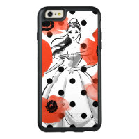 Belle With Poppies and Polka Dots OtterBox iPhone 6/6s Plus Case