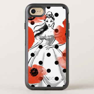 Belle With Poppies and Polka Dots OtterBox Symmetry iPhone 8/7 Case