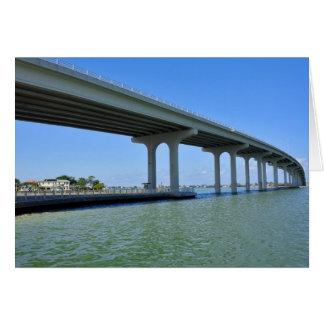 Belleair Beach Bridge Pinellas County Fl Card