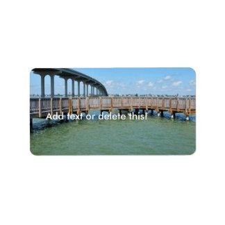 Belleair Beach Intracoastal Water Views Label