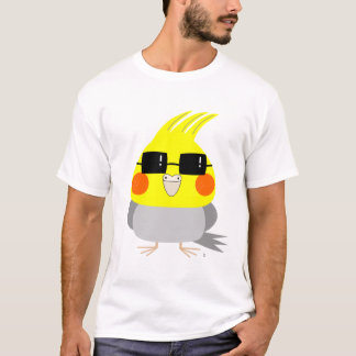 BelleBelle character cockatiel/bird w/ sunglasses T-Shirt