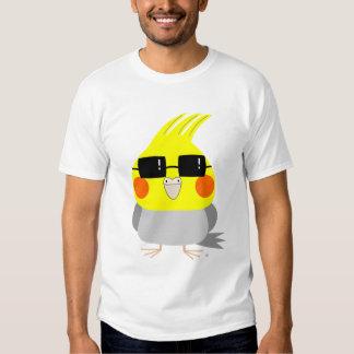 BelleBelle character cockatiel/bird w/ sunglasses Tshirt