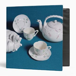 Belleek tea service vinyl binder