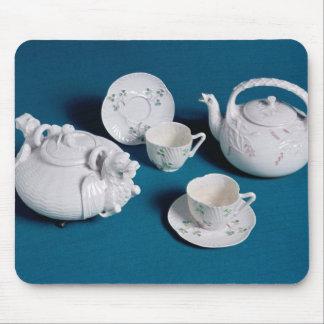 Belleek tea service mouse pad