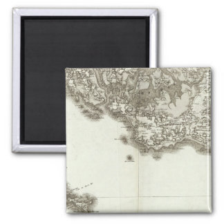 BelleIsle 2 Inch Square Magnet