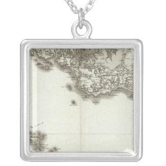 BelleIsle Square Pendant Necklace
