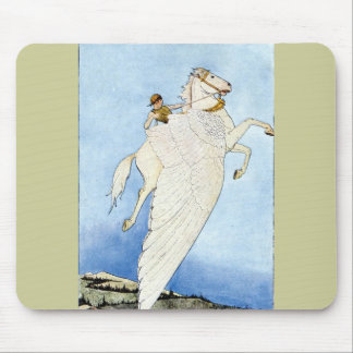 Bellerophon and Pegasus Mouse Pad