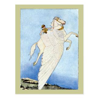 Bellerophon and Pegasus Postcard
