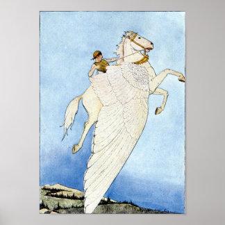 Bellerophon and Pegasus Poster