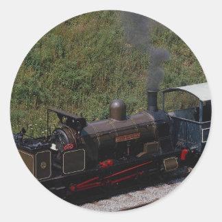 Bellerophon at Horsted Keynes Round Sticker