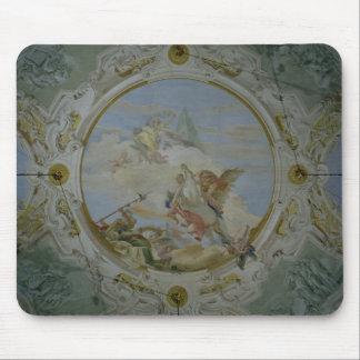 Bellerophon Riding Pegasus, c.1746-47 (fresco) Mouse Pad