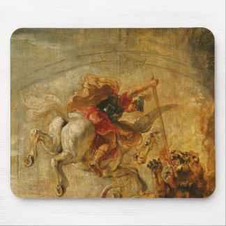 Bellerophon Riding Pegasus Fighting the Chimaera Mouse Pad