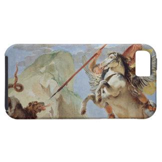 Bellerophon, riding Pegasus, slaying the Chimaera, iPhone SE/5/5s Case