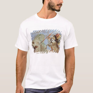 Bellerophon, riding Pegasus, slaying the Chimaera, T-Shirt