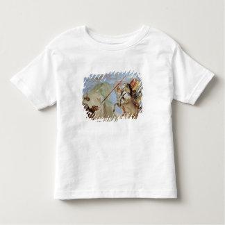 Bellerophon, riding Pegasus, slaying the Chimaera, T Shirt
