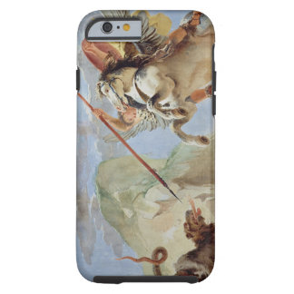 Bellerophon, riding Pegasus, slaying the Chimaera, Tough iPhone 6 Case
