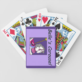 Belle's Carousel Playing Cards