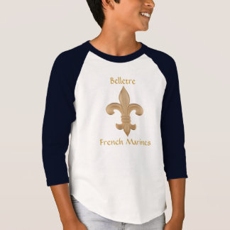 Belletre French Marines Kids Jersey T-Shirt