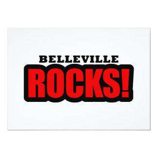 Belleville, Alabama City Design 5x7 Paper Invitation Card