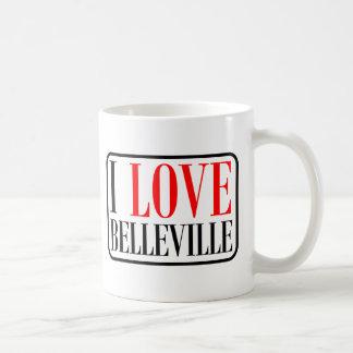 Belleville, diseño de la ciudad de Alabama Taza De Café