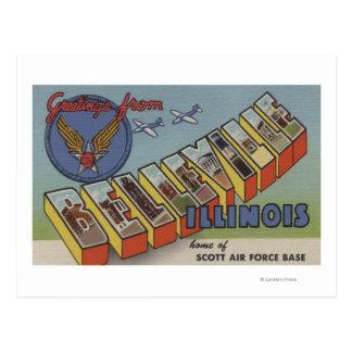 Belleville, Illinois - escenas grandes de la letra Postales