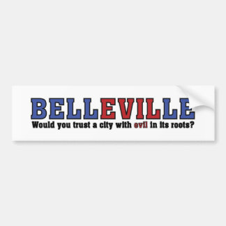 Belleville Pegatina Para Auto