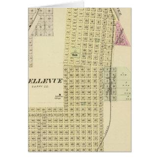 Bellevue and La Platte, Nebraska Card