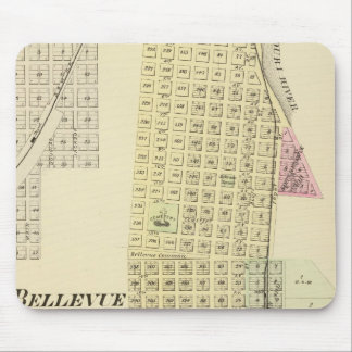 Bellevue and La Platte, Nebraska Mouse Pad
