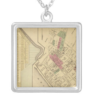 Bellevue Borough Silver Plated Necklace
