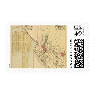 Bellevue Borough Stamp