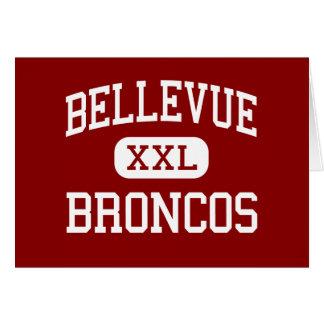 Bellevue - caballos salvajes - centro - Bellevue M Tarjeton