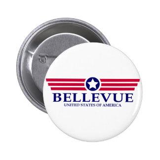 Bellevue NE Pride 2 Inch Round Button