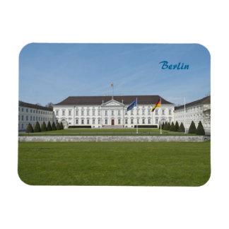 Bellevue Palace in Berlin Vinyl Magnet