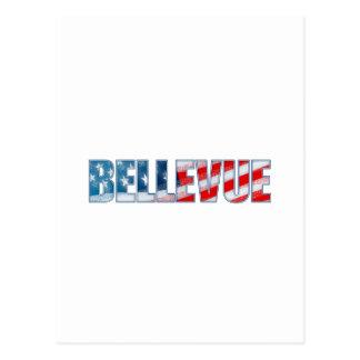 Bellevue Postcard