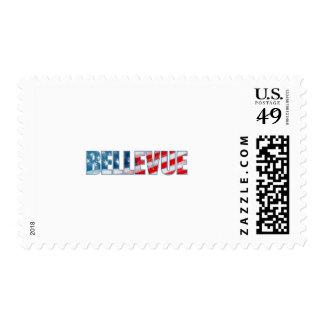 Bellevue Stamp