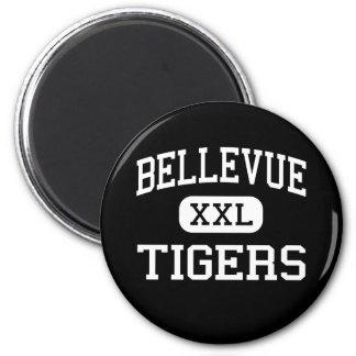 Bellevue - Tigers - High - Bellevue Kentucky Magnets
